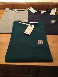 Jack & Jones Cylinder t shirt  (slim fit) 3 colours, small chest badge S to L