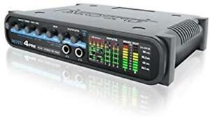 New MOTU 4Pre USB / FIREWIRE AUDIO INTERFACE Microphone Mic Preamplifiers NIB !