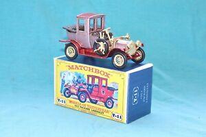 Matchbox Yesteryear Y11-2 Packard Landaulet (1912) - Code 3 (E18)