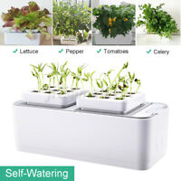 Smart Indoor Gardening System Plant Grow Hydroponics System Growing Kit herb