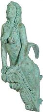 "Sea Siren Mermaid Marinea Shipwreck Finish 36"" Figurehead Sculpture Statue Hang"