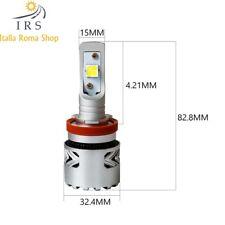 H11 LAMPADA led PER AUTO SPECIFICA PER LENTICOLARE 12/24V 12000 LM 6500K