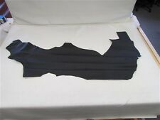 """Black Leather Hide Textured 48"""" X 20"""""""