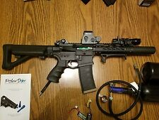 polarstar airsoft gun package - used