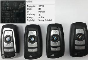 BMW F series Genuine blank key 5WK49661 868MHz  PCF7953 KEYLESS ENTRY