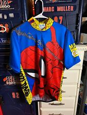 Pearl iZumi Vintage 1996 Marvel Comics - Spiderman Cycling Jersey - L