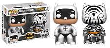 "Exclusive DC zebra & bullseye batman 2 pack 3.75"" POP vinyl figure FUNKO"