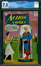 ACTION COMICS 256 CGC 7.5 - OW/W PAGES
