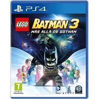 LEGO BATMAN 3 MÁS ALLÁ DE GOTHAM EN CASTELLANO NUEVO PRECINTADO PS4