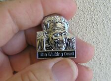 MERLE The WALKING DEAD VEST PIN Chrome Metal BADGE *New* suit Harley Biker Lapel