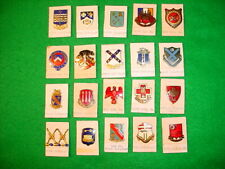 Pre and Early WW2 US Army, Misc. Units, Screw Post Insignia (DUI) Grouping of 20