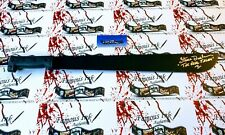 Steve Dash Autographed REAL Full Size Machete Jason Voorhees Friday The 13th