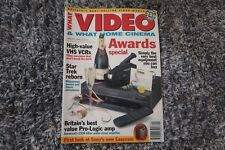 WHAT VIDEO MAGAZINE JANUARY 1994 STAR TREK REBORN