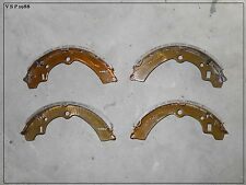 "SUZUKI SJ410 SJ413 REAR DRUM BRAKE SHOE SET JIMNY SIERRA "" WIDE TRACK "" DROVER"