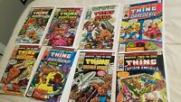 Marvel Two in One 33 34 35 38 39 40 41 42 lot The Thing Black Panther  Nice