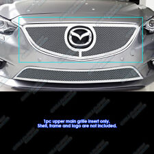 Fits 2014-2016 Mazda 6 Stainless Mesh grille Insert