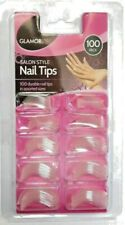 NAIL TIPS SALOON STYLE 100 PACK DURABLE NAIL TIPS IN ASSORTED SIZES