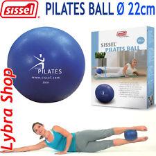 Sissel PILATES Suave Bola 22cm +POPOTE DE INFLACIÓN +2 TAPAS Gym bola suave Yoga
