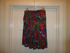NWOT LuLaRoe MADISON swing skirt BEAUTIFUL print & colors sz 2XL FREE SHIP
