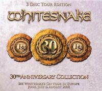 WHITESNAKE - 30TH ANNIVERSARY COLLECTION 3 CD ROCK NEU