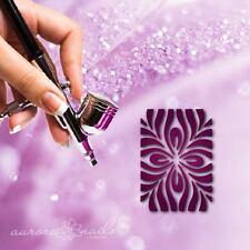 Aerografo colla Formine - MU045 - Nail art Decorazione Floreale fullcover 20pcs