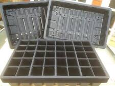 10 x FULL SIZE SEED TRAYS + 10 x 40 CELL SEED TRAY INSERTS