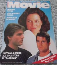 1989 MOVIE 89, TOM CRUISE, MEL GIBSON, JODIE FOSTER, JAMES DEAN,SIGOURNEY WEAVER