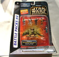 Star Wars Action fleet Battle Pack #4 Imperial Hunters Tatooine  MIP  120