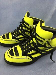 Alejandro Ingelmo Men's Yellow TRON High Top Sneakers - US Size 9.5