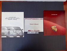 1991 Porsche 964 911 Turbo Owner Manual Operator Book + 2 Brochure Package N146