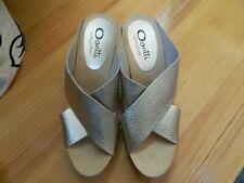 Ogetti by Carl Scarpa UK 6 EU 39 GOLD Wedge Platform Sandals Diamanté