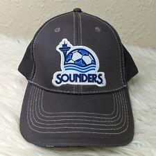 Seattle Sounders FC MLS Washington Federal Bank Promo Hat Strapback Cap Gray
