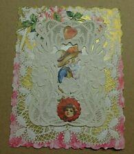 1916 Vintage Victorian Valentine-Unused