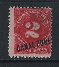 Bigjake: Canal Zone, #J2, 2 cent Postage Due