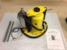 Esco Equipment 10450 20 Ton Air/Manual Hydraulic Bottle Jack Yellowjackit, New