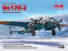 ICM 1/48 Dornier Do-17Z-2 WWII Finnish Bomber nº 48246