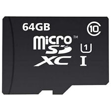 New MyMemory 64GB Micro SDXC TF Memory Card Class 10 UHSI U1 with Adapter 90MB/s