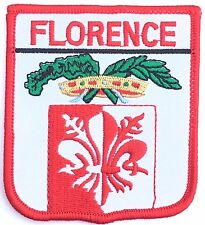 Florence Italy Embroidered Patch *New Size*
