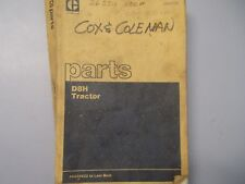 CAT Caterpillar D8H Tractor Parts Manual  46A24483 Last Built