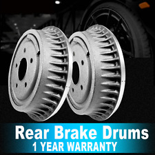 2 Rear Brake Drums OE Replacement For BRONCO E-150 ECONOLINE CLUB WAGON F-150