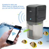 WiFi Wireless Fernbedienung Fisch Aquarium Automatik Fishfeeder Futterautomat