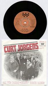 "[BEE GEES] CURT JORGENS~DU AR MIN / GRAT ICKE MER~1968 SWEDISH VINYL 7"" SINGLE"