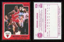 Michael Jordan 1985/86 Star # 117 Reprint carte NBA Basketball