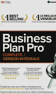 Business Plan Pro Brand New!  Free Shipping!