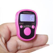 Useful Digit Hand Finger Tally Counter For Tasbee Golf School Spot LCD Digital