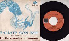 WALTER MORENO ORCHESTRA  disco 45 giri STAMPA ITALIANA  La fisarmonica + Marina