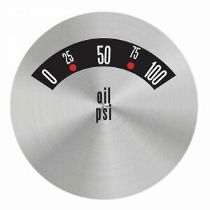 American Retro Rodder Series Oil Pressure Face