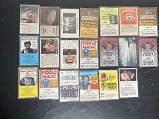 20 Vintage Polka, Accordion Cassettes Tapes
