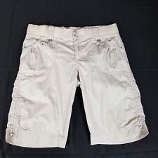 Columbia Womens Shorts Size 10 Beige Omni Shade