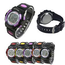 New! Sport Watch Girl Boy LED Light Wrist Watch Alarm Date Digital Multifunction